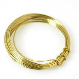 ParaWire - 18ga Square Wire - Faux Gold (Coil)