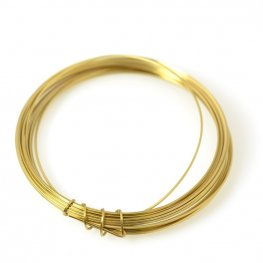 ParaWire - 22ga Square Wire - Faux Gold (Coil)