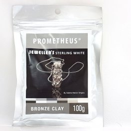Metal Clay - Prometheus - Jeweller's Sterling White Bronze Clay (100 grams)