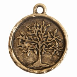 Charm - Tree of Life - Antique Gold