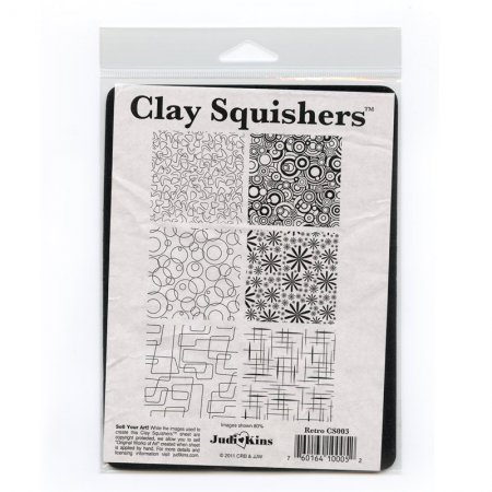 Metal Clay Supplies - Clay Squisher - Retro