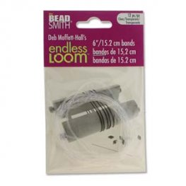 Tools - 6in Bands for Endless Loom - Clear (12)