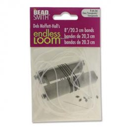 Tools - 8in Bands for Endless Loom - Clear (6)