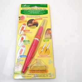 Felting Tools - Pen Style Variable Needle Felting Tool -