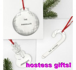 Metal Sheet - Blank - Christmas Ornaments (Set)