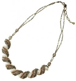 Kit - Miyuki Beading Kit - Designer - Dutch Spiral Southern Wind Necklace