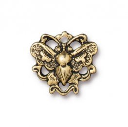 Finding - Link - Wild Butterfly - Antique Gold