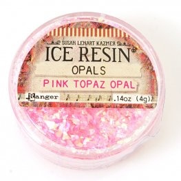 Ice Resin - Opals - Pink Topaz Opal