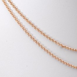 Chain - 2mm Rolo Chain - Rose Gold (foot)