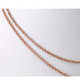 Chain - 2mm Rolo Chain - Antiqued Copper (foot)
