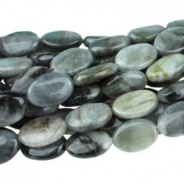 Stone Beads - 10x14mm Oval - Cat's Eye (strand)