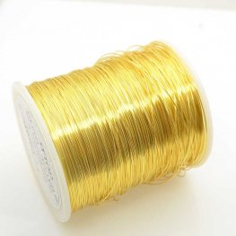 ParaWire - 26ga Round Wire - Gold (Spool)