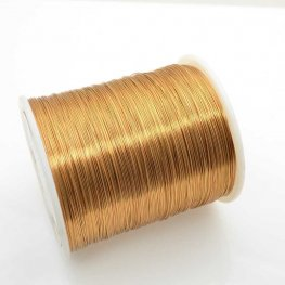 ParaWire - 28ga Round Wire - Faux Gold (Spool)