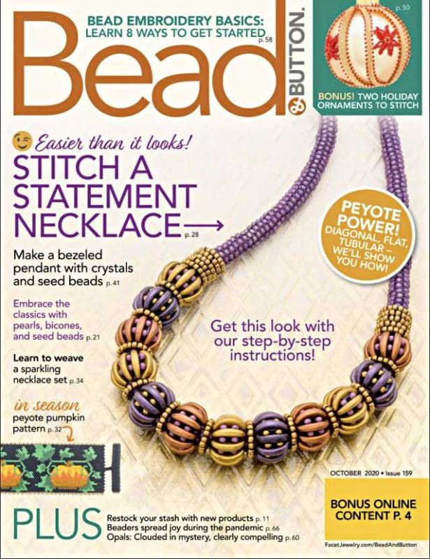 Magazine - Bead and Button - 2020 - October