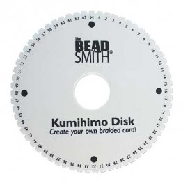Tools - 6in Kumihimo Round Plate / Disk 64 Slot