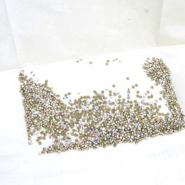 Swarovski - Rhinestones - pp18 Chaton (Article 1028) (Foiled) - Crystal AB (1440)