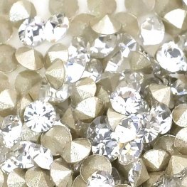Swarovski - Rhinestones - pp16 Chaton (Article 1028) (Foiled) - Crystal (1440)