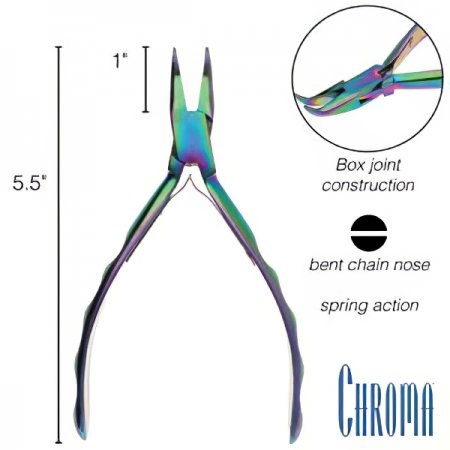 Tools - Chroma Pliers - Bent Chainnose