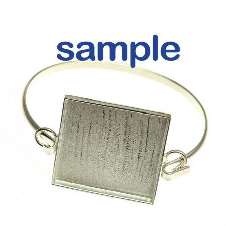 Bracelet Band for Interchangeable Link - Small - Bright Silver