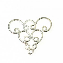Link - Whirly Curly - Sterling Silver (2)