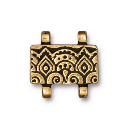 Stitch-In Magnetic Clasp - Antique Temple - Antique Gold