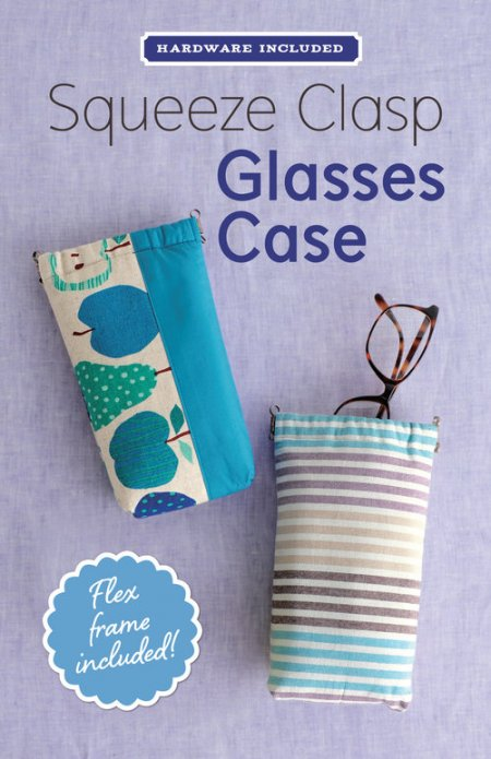 DIY Glasses Case - Pattern & Squeeze Clasp