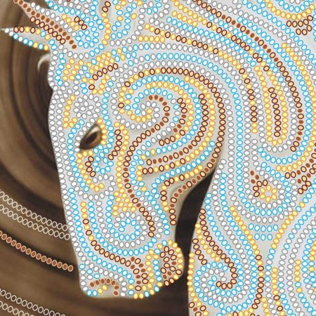 Bead Embroidery - Pattern / Chart - Pegasus