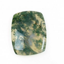 OOAK - Cabochon - Rectangle - Moss Agate