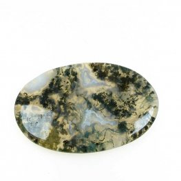 OOAK - Cabochon - Oval - Moss Agate