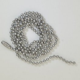 Chain - 2.4mm Ball Chain - Stainless Steel