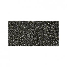 Japanese Seedbeads - 11/0 2.2mm Toho Demi Round Seedbeads - Hybrid ColorTrends Transparent Shark Skin