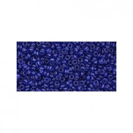 Japanese Seedbeads - 11/0 2.2mm Toho Demi Round Seedbeads - Hybrid ColorTrends Snorkel Blue
