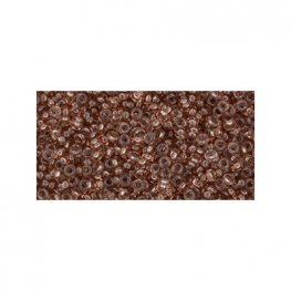 Japanese Seedbeads - 11/0 2.2mm Toho Demi Round Seedbeads - Hybrid ColorTrends Iced Coffee