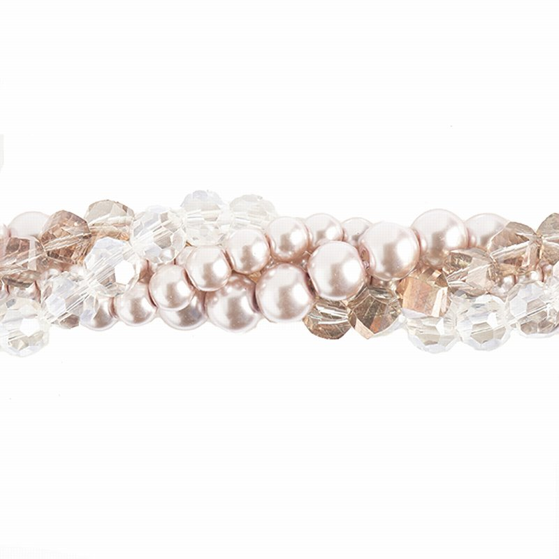 Bead Mix - Crystal Lane Twisted Bead Strands - Deutzia (Pack)