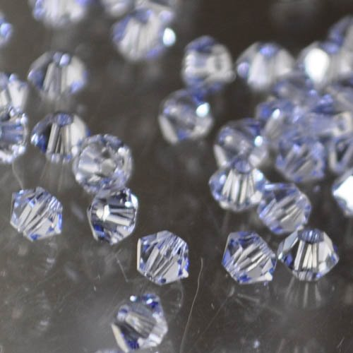 Swarovski Bead - 3mm Faceted Bicone (5301/5328) - Provence Lavender (36)