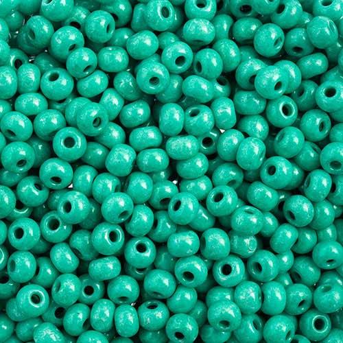 Czech Seedbeads - 6/0 Seedbead - Terra Intensive Dark Green (500g)