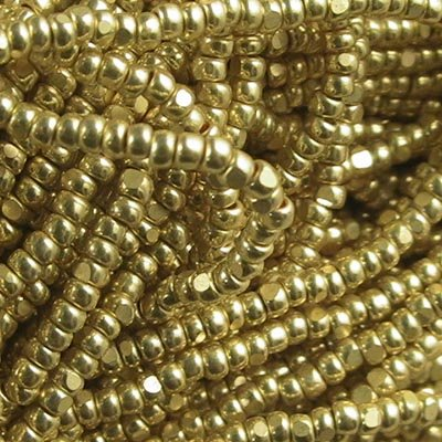 Seedbeads - 13/0 Charlotte - Metallic Gold [Terra] (hank)