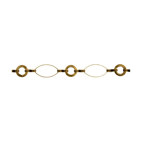 Chain - Chain - Antique Gold (2 m card)