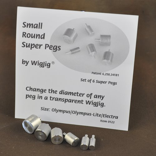 Tools - Wire Bending - Wigjig (tm) Small Round Super Pegs - (Olympus/Olympus Lite/Electra)