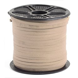 Stringing - 3mm Leather Lacing Cord - Natural (Spool)
