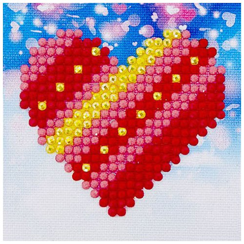 Diamond Dotz - 2.75x2.75in Beginner Kit - Patchwork Heart