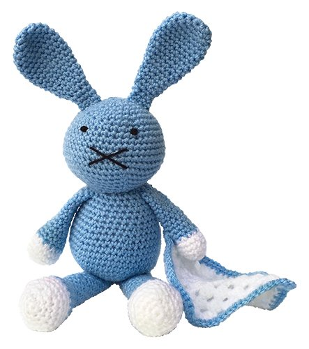 Crafty Kits - Crochet Kit - Baby Blue Bunny