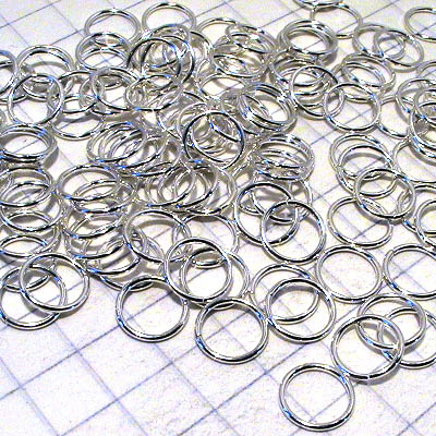 Jump Rings Open 7mm - Sterling (3.5 grams)