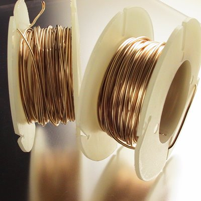 Gold-filled Wire - 20ga Round Wire - Dead Soft (Inch)
