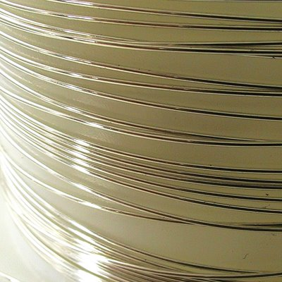 Sterling Wire - 22ga / 0.65mm Round - Dead Soft (foot)