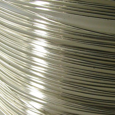 Sterling Wire - 24ga / 0.5mm Round - Dead Soft (foot)