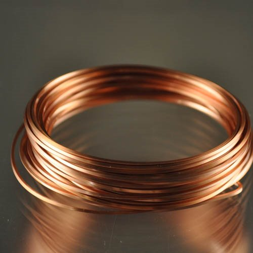 ParaWire - 18ga Square Wire - Non-Tarnish Copper (Coil)