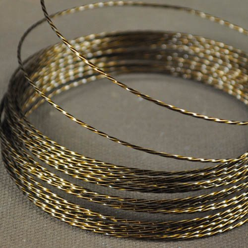 ParaWire - 21ga Twisted Wire - Vintage Bronze (Coil)