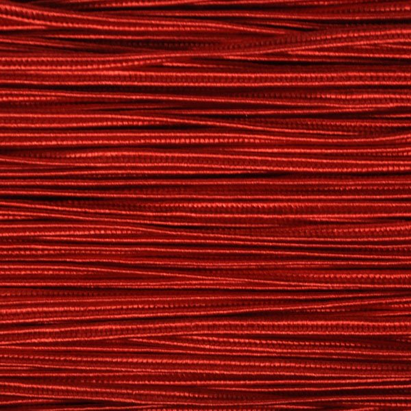 Braid - 3mm Rayon Soutache - Ruby Red (1 meter) Manager Special