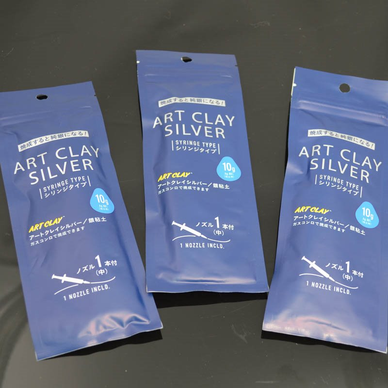 Art Clay Silver - New Formula - Syringe Type (with 1 Tip) (10 grams)